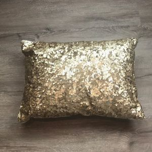 Pottery Barn Emily & Merritt Sequin Pillow EUC